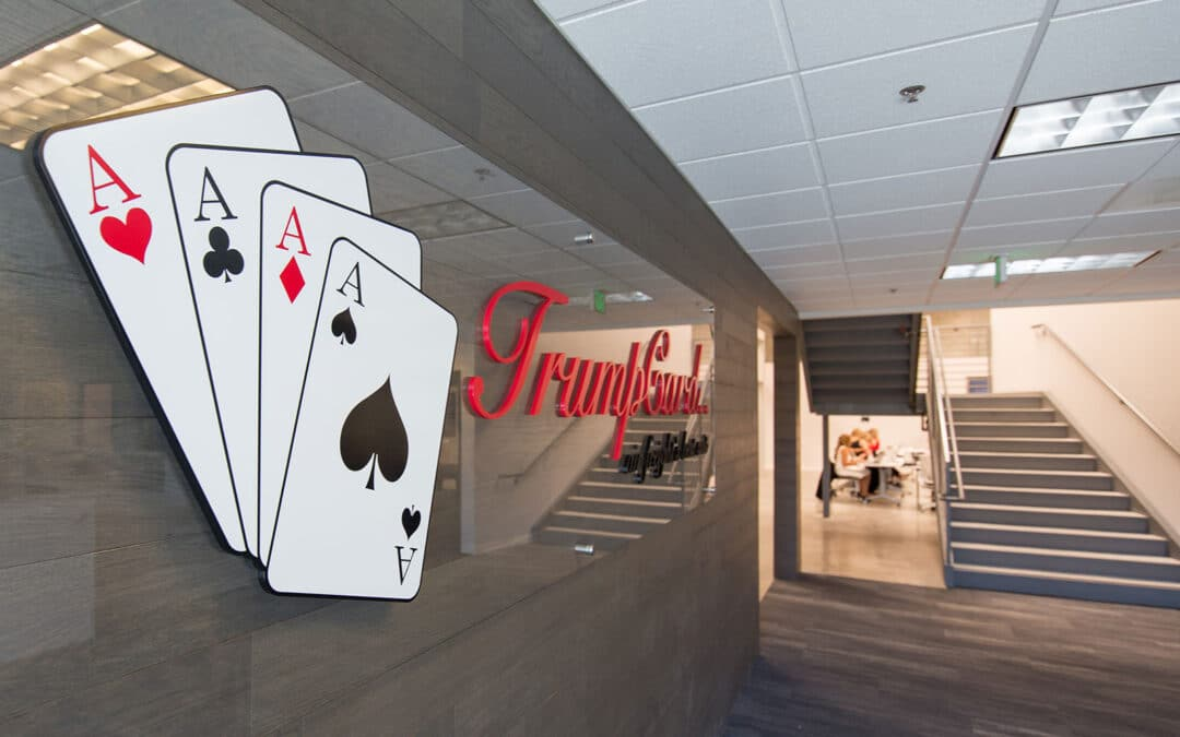 Promotions at TrumpCard Show Team Success